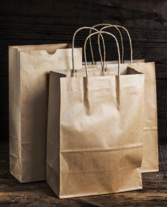 Brown-recyclable-paper-bag